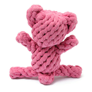 Knotted Bear Toy