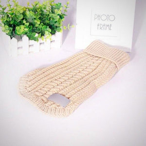 Straw-Rope Knitted Sweater