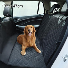 Load image into Gallery viewer, Waterproof Back Seat Car Cover With Hammock Protector Mat