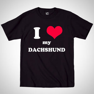 I Heart My Dachshund T-Shirt