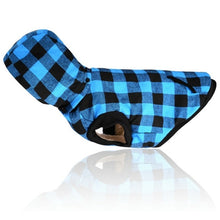 Load image into Gallery viewer, Warm Plaid Hoody