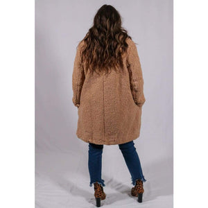 Colder Weather Teddy Coat - Outerwear