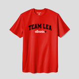 Unisex Adult Team Lea Albania T-Shirt Red