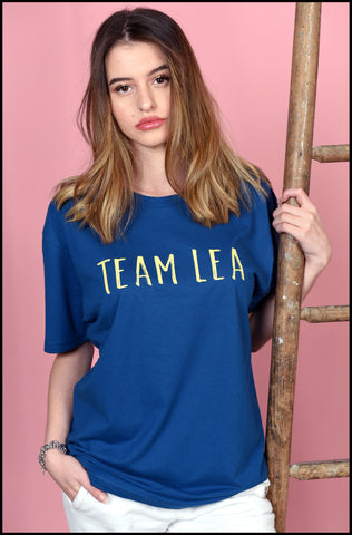 Unisex Adult Team Lea T-Shirt Blue