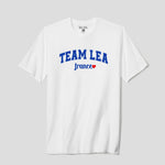 Unisex Adult Team Lea France T-Shirt White