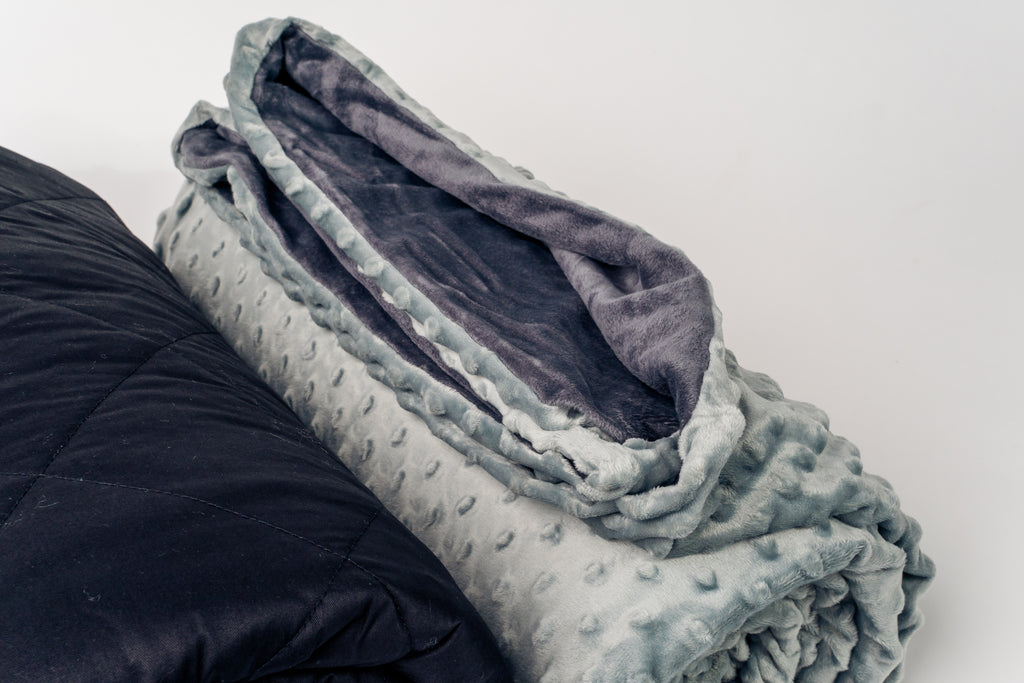 Weighted Blanket W/ Cover + 400 ML Diffuser Bundle