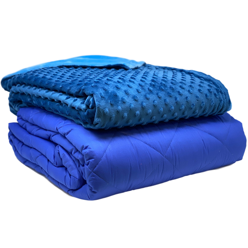 Weighted Blanket w/ Cover for Adults