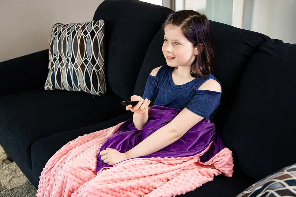 Weighted Blanket w/ Cover for Kids