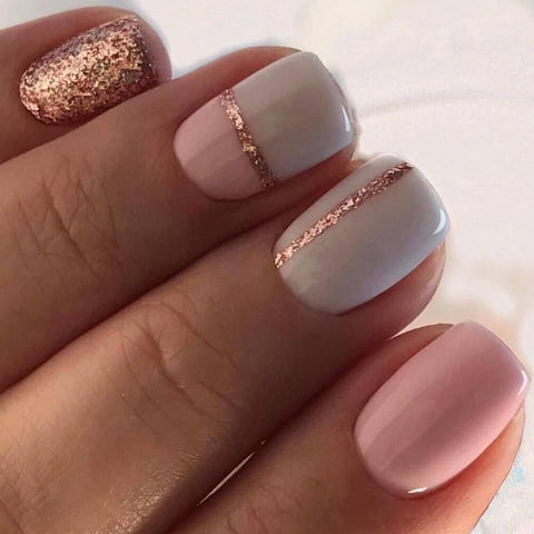 ongles strass