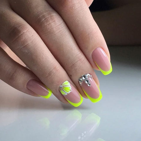 french manucure et Nail art
