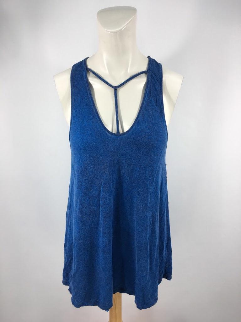 We The Free Women's Blue Vintage Wash Tank Cami Top Size S