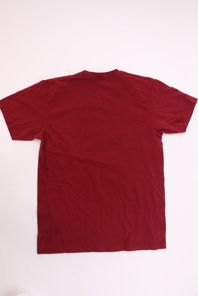 American Apparel Men's Red All About That Bass T-Shirt Top Size M