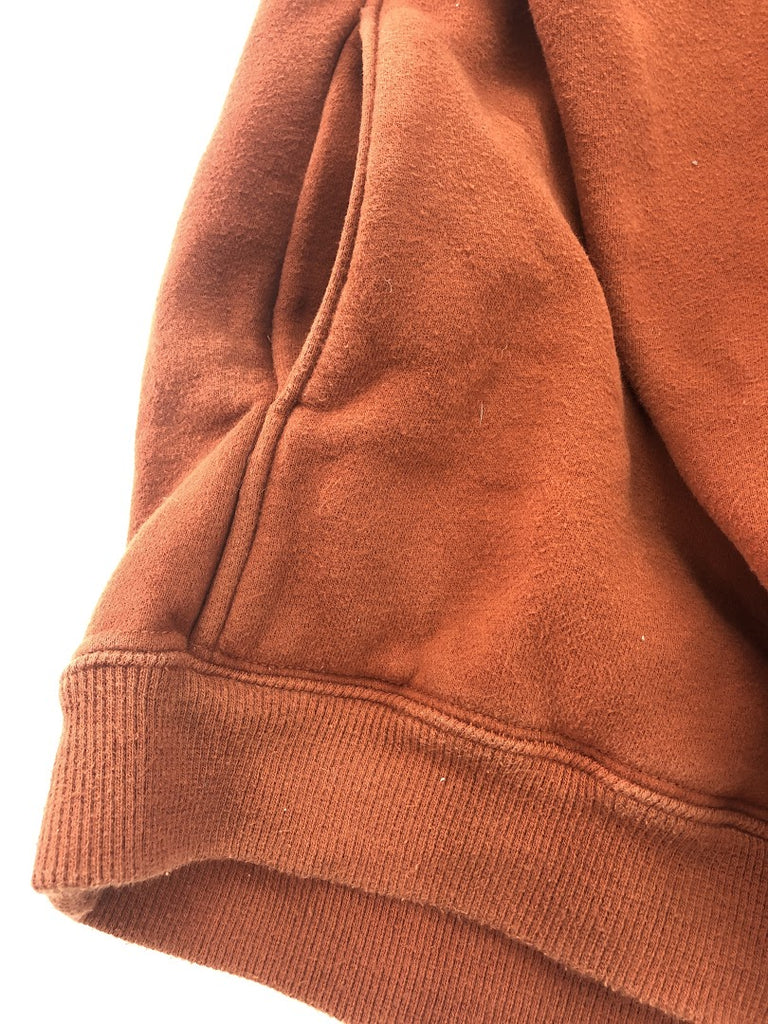 Columbia Women's Light Brown Solid Thick Cotton Long Sleeve Sweatshirt Size L