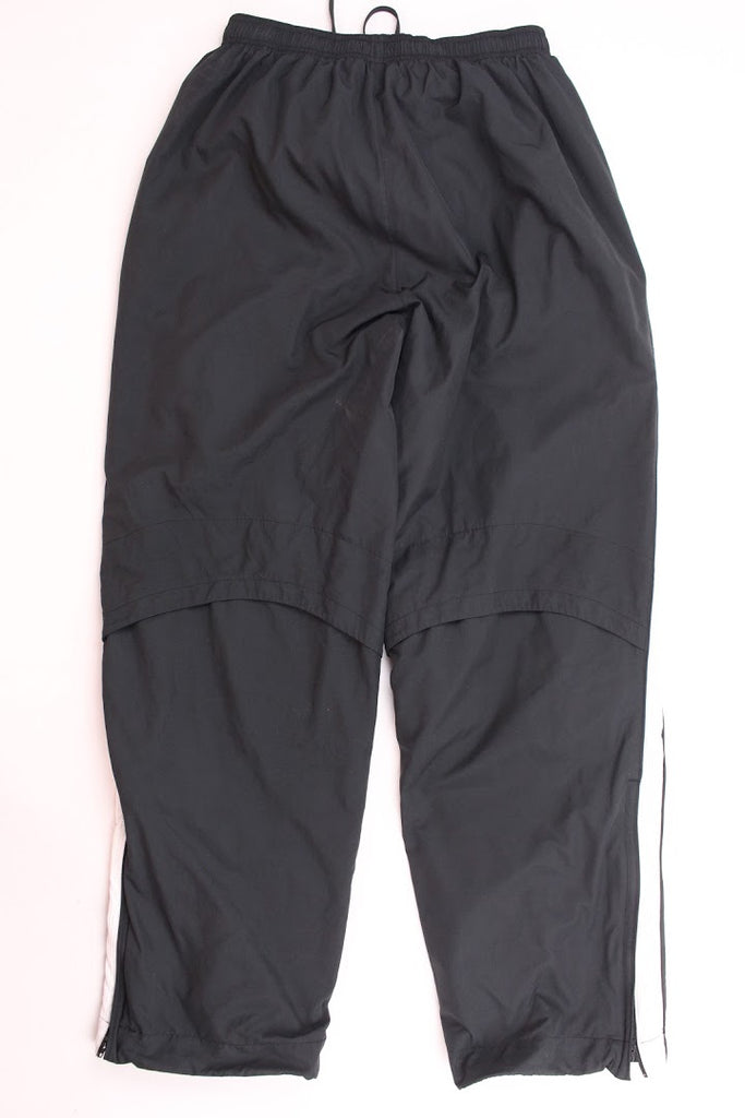 Nike Men's Black Lined Polyester Track Pants Size M