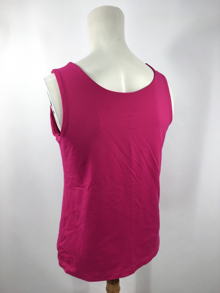 Chico's Women's Pink Shaping Inner Layer Sleeveless Blouse Top Size 0