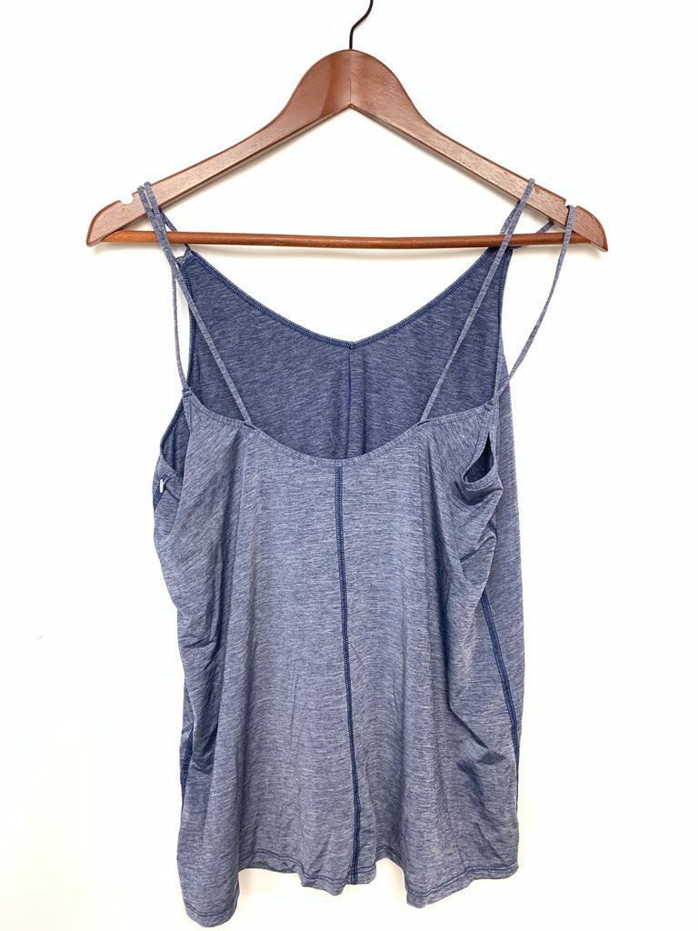 Nike Women's Blue Strappy training tank Activewear Tank Top Size M