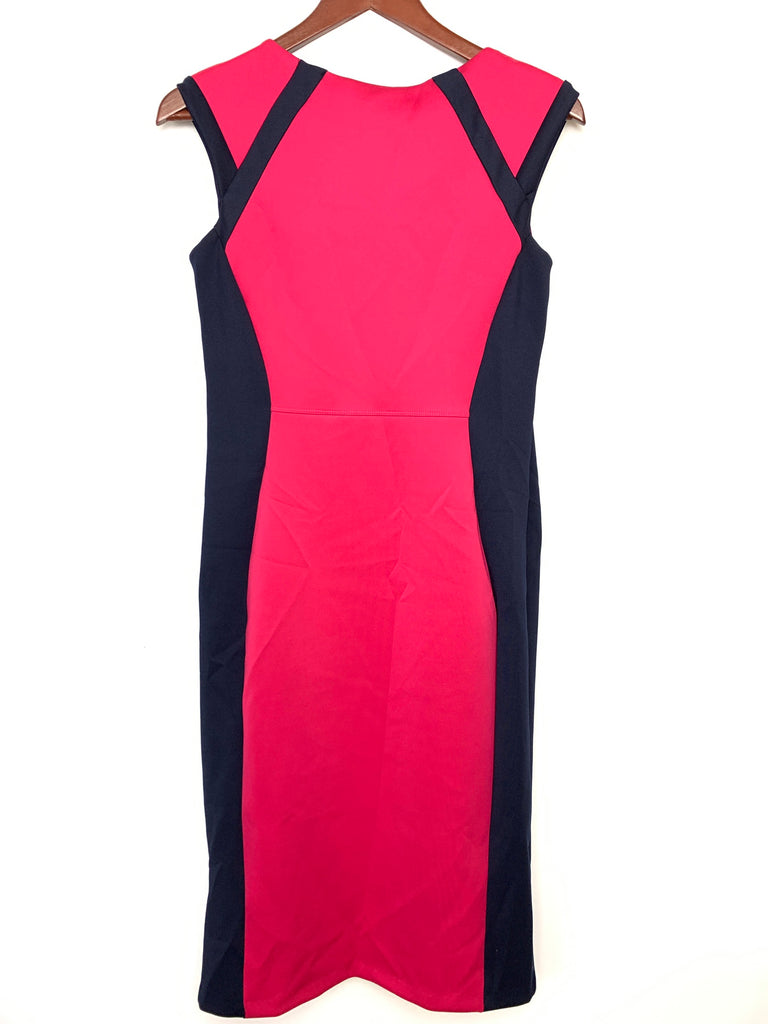 Enfocus Studio Women's Magenta Sheath Dress Size 6