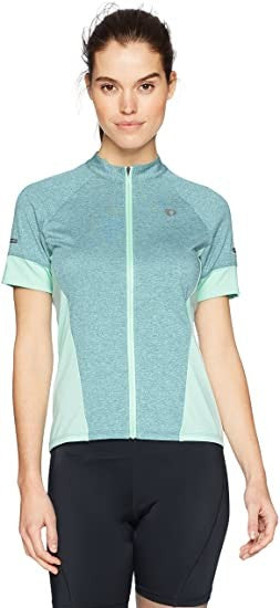 PEARL IZUMI W Select Escape ss Jersey, Arctic/Mist Green, X-Large