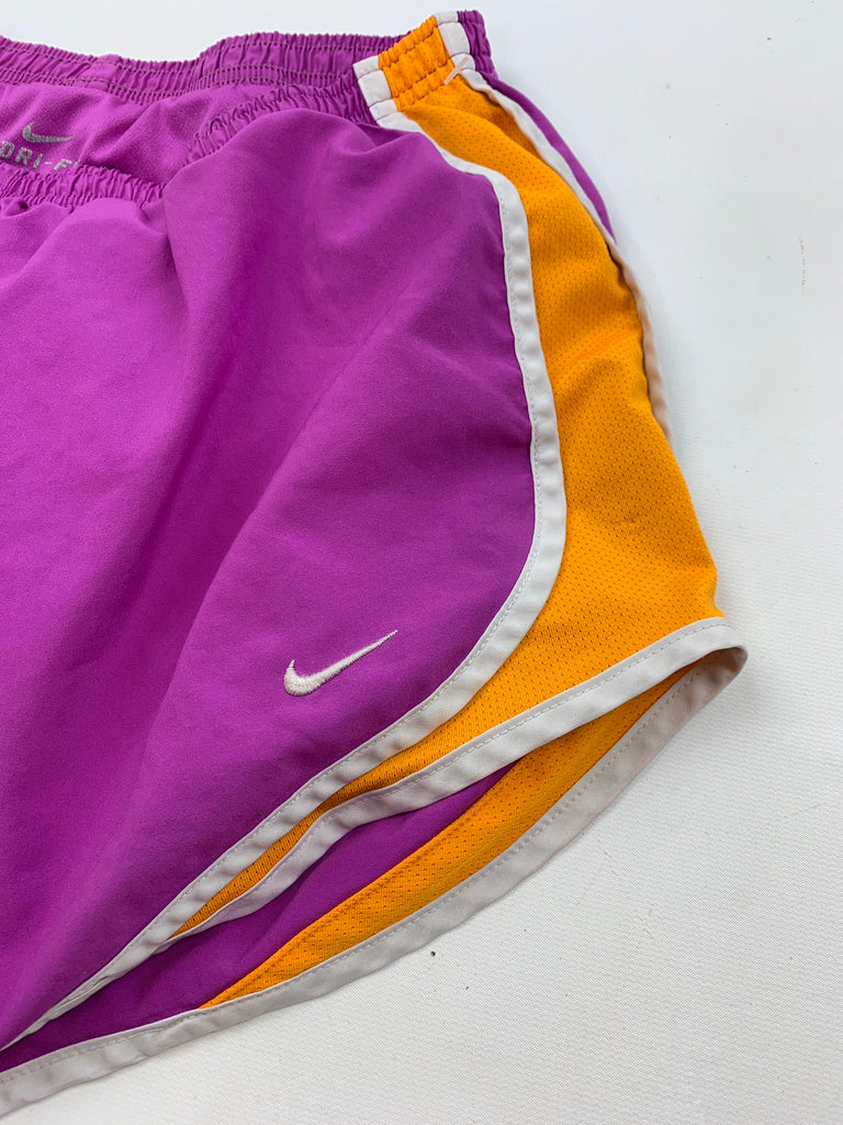Nike Women's Purple Running dri fit Activewear Shorts Pants Size S