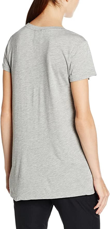 Helly Hansen Women's Graphic T-Shirt, Grey Melange, Medium