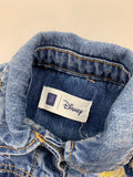 Gap Girl's Blue Disney baby Bella denim jacket Outerwear Size 12-18m