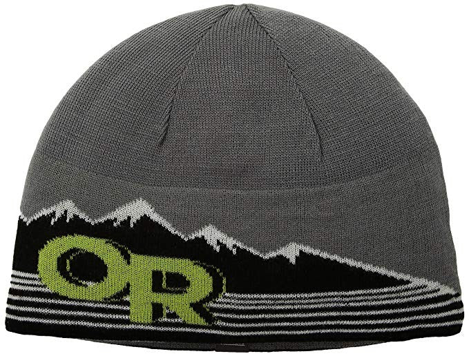 Outdoor Research Advocate Beanie Pewter/Lemongrass 1size