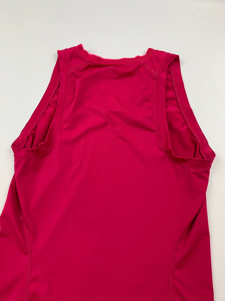 Nike Women's Magenta V neck Activewear Tank Top Size XS