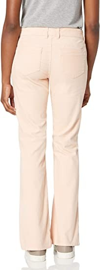Mountain Khakis Women's Canyon Cord Pant Slim Fit, Pink Champagne, 6 Regular