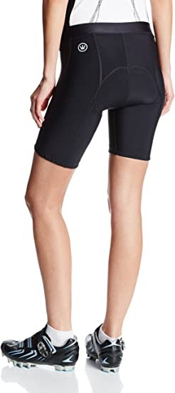 Canari Cyclewear Women's Arista Shorts, Black, Large