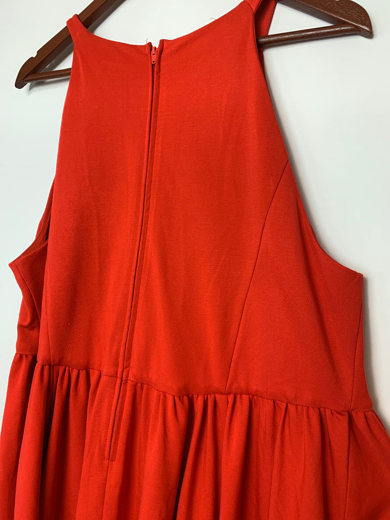 Torrid Women's Pleated sleeveless A-Line Dress Size 18
