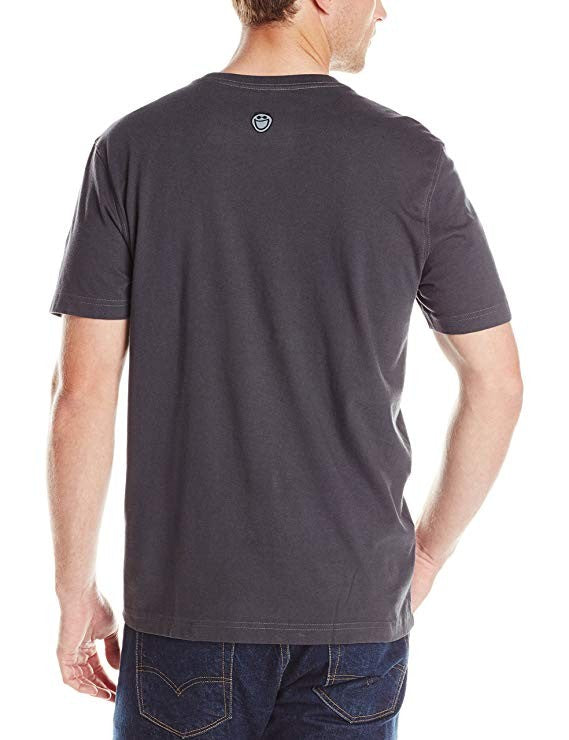 Life is good Men's Crusher Grill Sergeant Tee Night Black Small
