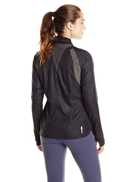 Pearl Izumi - Run Women's Flash Jacket X-Large Black/Shadow Grey