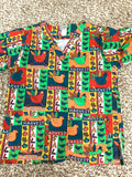 Ua Scrubs Unisex Lot of 7 scrub top holiday Scrub top Size S