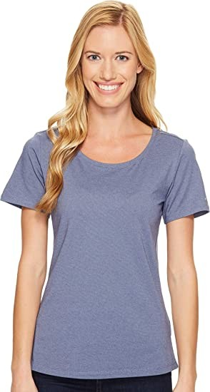 Columbia Women's Shadow Time Iii Tee, Bluebell, Small
