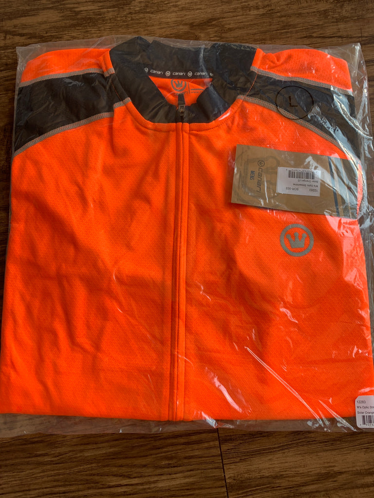 CANARI Optic Streamline Jersey, Solar Orange, Large
