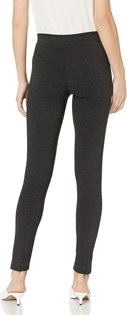 M Made in Italy Women's Missy Stretched Leggings, Anthracite
