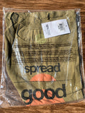 Life is good Women's Breezy good Vibes Sunset Tee Woodland GreenSmall