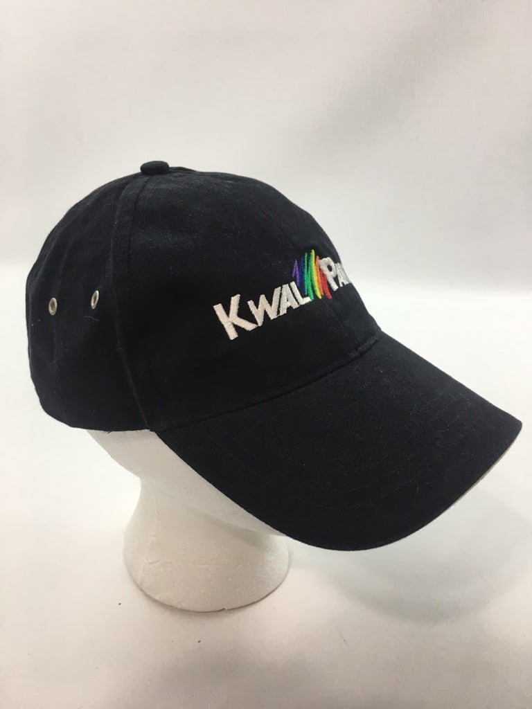 Kwal Paint Men's Black Company Promo Employee Baseball Cap Hat Size One Size