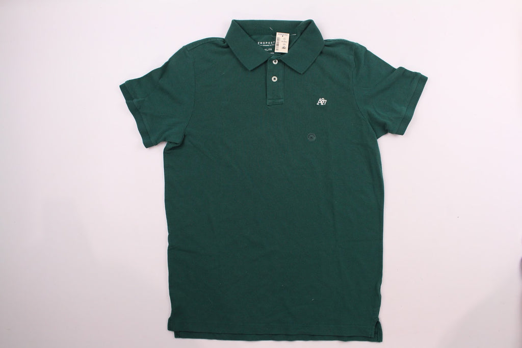 NWT Aeropostale Men's Green Slim Fit Nwt Polo Size Xl