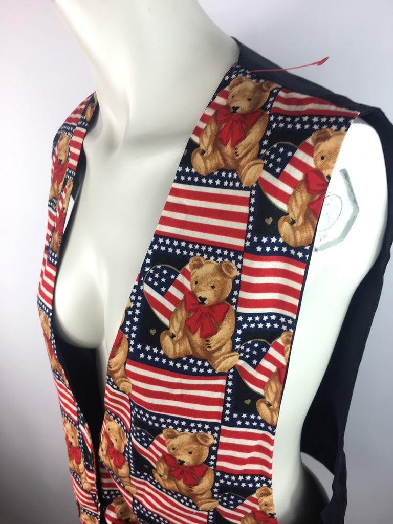 Jln Usa Red Patriotic Teddy Bears Cotton Size L