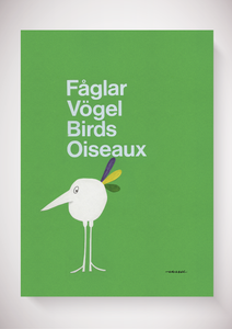 Fåglar, Vögel, Birds, Oiseaux - the bird collection