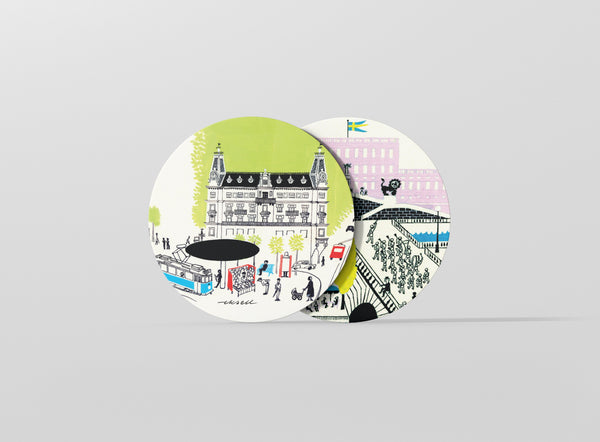 Best of Stockholm Coasters