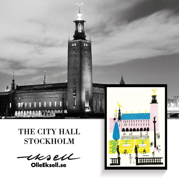 Stockholm City Hall - 1939