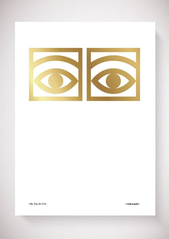 Ögon Cacao Gold - 1956 - One Eye - 50x70