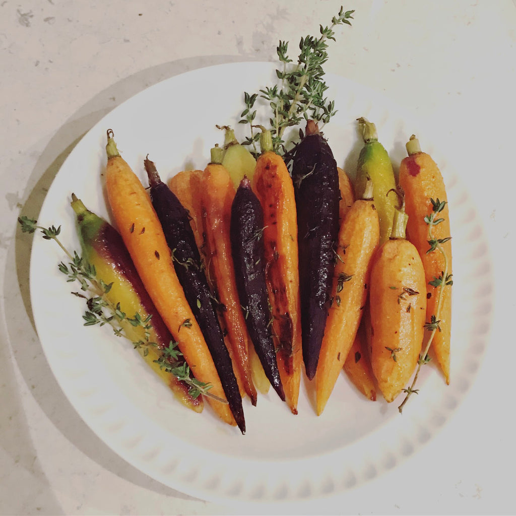 Roasted Carrots by Tanya Guerra for Phaedra Botanicals