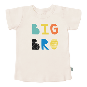 """Big Bro"" Graphic Organic Tee"