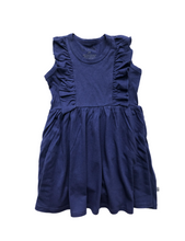 Load image into Gallery viewer, Vayda Dress- Skipper Blue