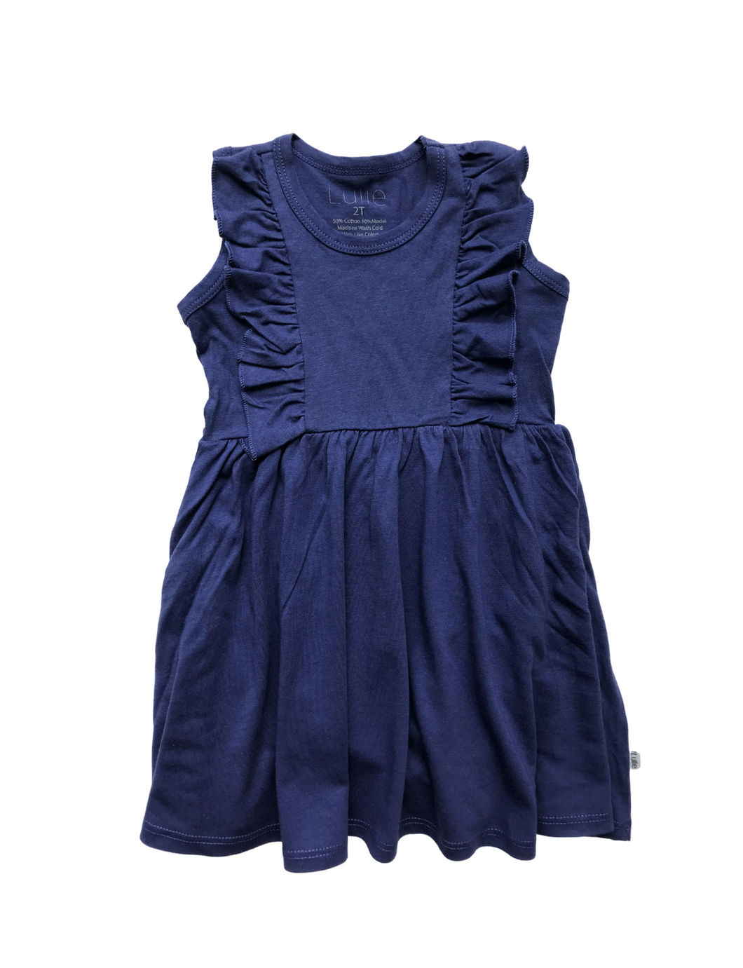 Vayda Dress- Skipper Blue