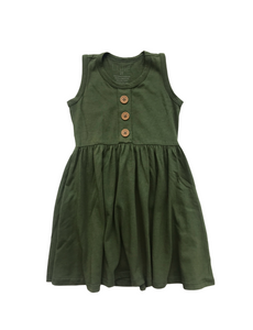 Maisie Dress- Chive