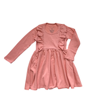 Load image into Gallery viewer, L/S Vayda Dress- Coral
